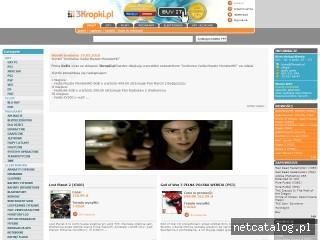 Zrzut ekranu strony www.3kropki.pl