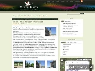 Zrzut ekranu strony www.blog.multi-grafia.pl