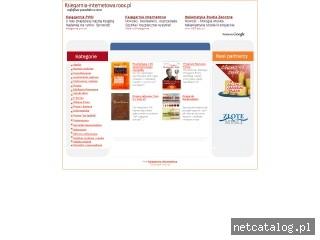Zrzut ekranu strony ksiegarnia-internetowa.roox.pl