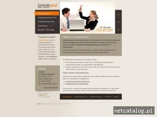 Zrzut ekranu strony www.comweb.gpe.pl