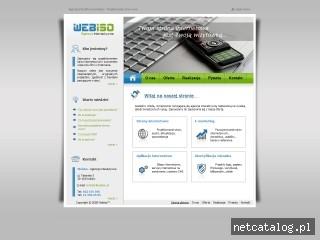 Zrzut ekranu strony www.webiso.pl