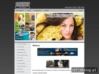 Zrzut ekranu strony www.rokoko.com.pl