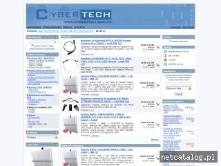 Zrzut ekranu strony www.cybertech.com.pl
