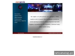 Zrzut ekranu strony www.euro-serwis.info.pl