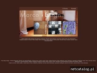 Zrzut ekranu strony www.marcodesign.pl