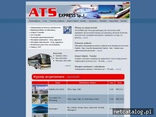 Zrzut ekranu strony www.ats.gpe.pl