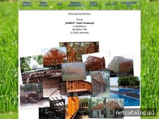 Zrzut ekranu strony www.ramza.com.pl