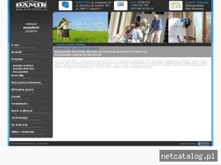 Zrzut ekranu strony www.damir.com.pl