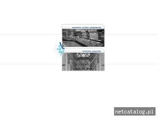 Zrzut ekranu strony www.italfrost.pl