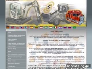 Zrzut ekranu strony bauma.info.pl