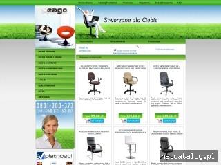 Zrzut ekranu strony www.eago.pl