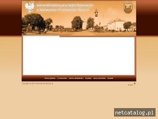 Zrzut ekranu strony www.komorniksochaczew.pl