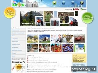 Zrzut ekranu strony www.letmeknow.pl